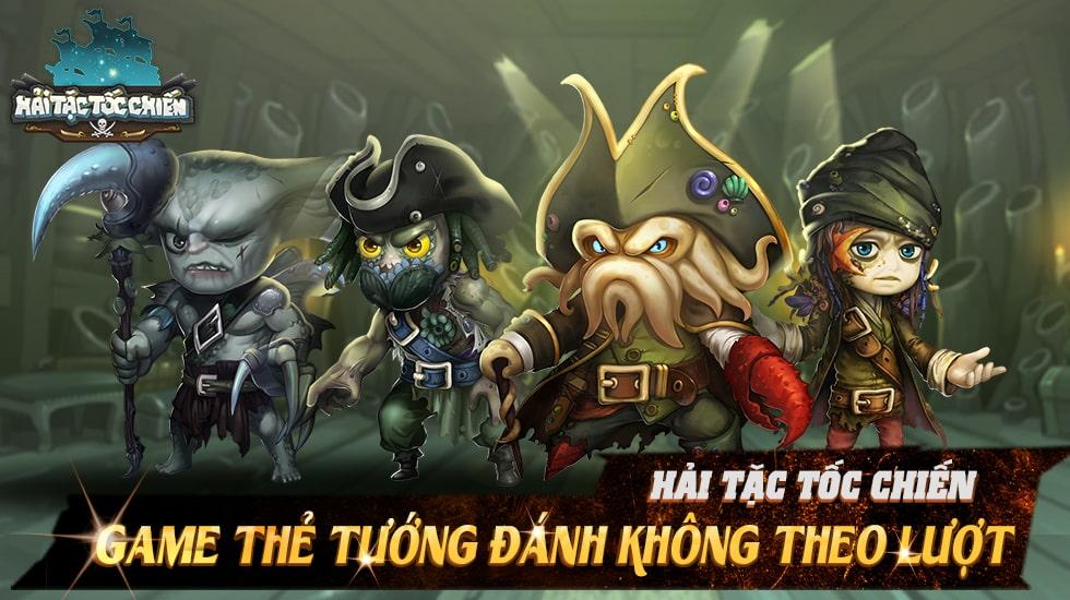 Hải Tặc Tốc Chiến - Game thẻ tướng đánh không theo lượt